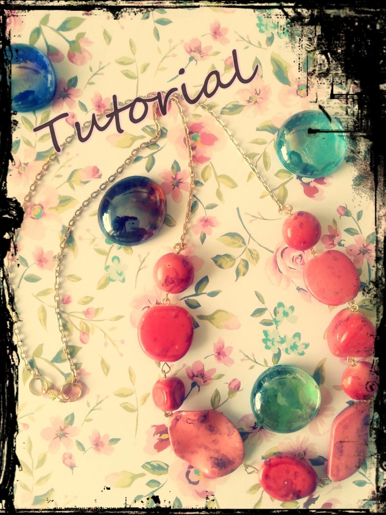 ♥ [Tutorial] Kette mit großen Perlen ♥