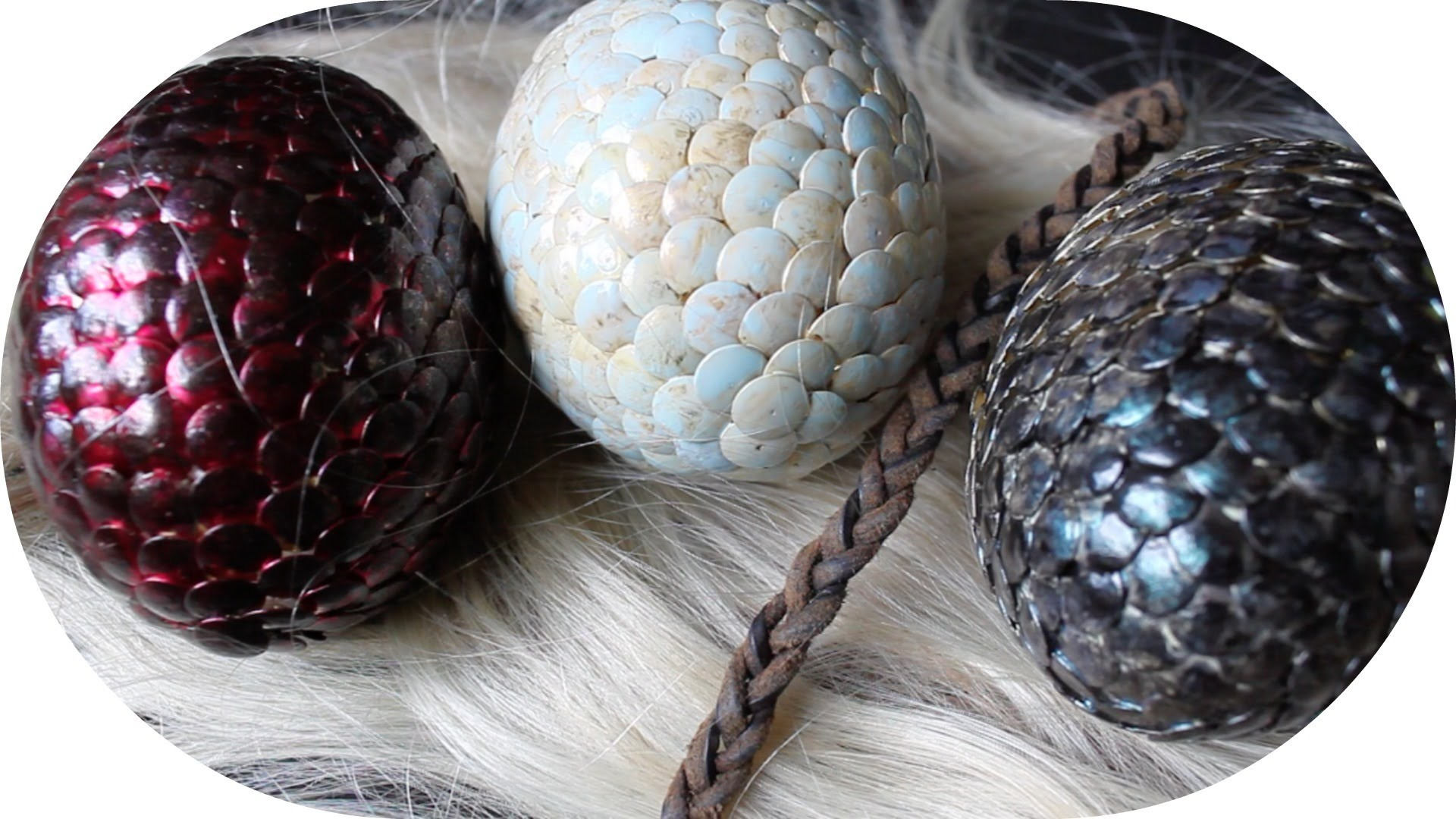 DIY | Game of Thrones Dracheneier |  Dragon Eggs