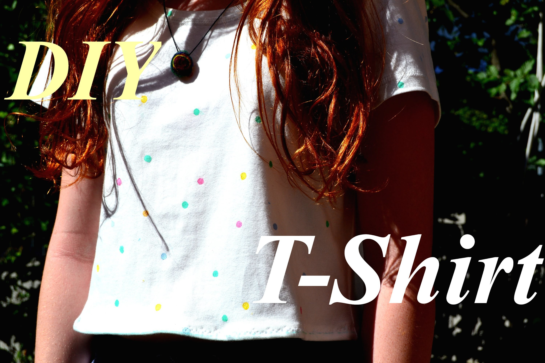 DIY mit Locher T-Shirt machen |Panampferd