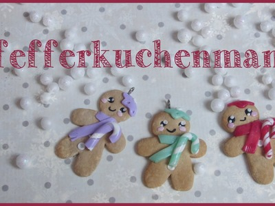 PFEFFERKUCHENMANN ♡ | FIMO Tutorial #winteredition
