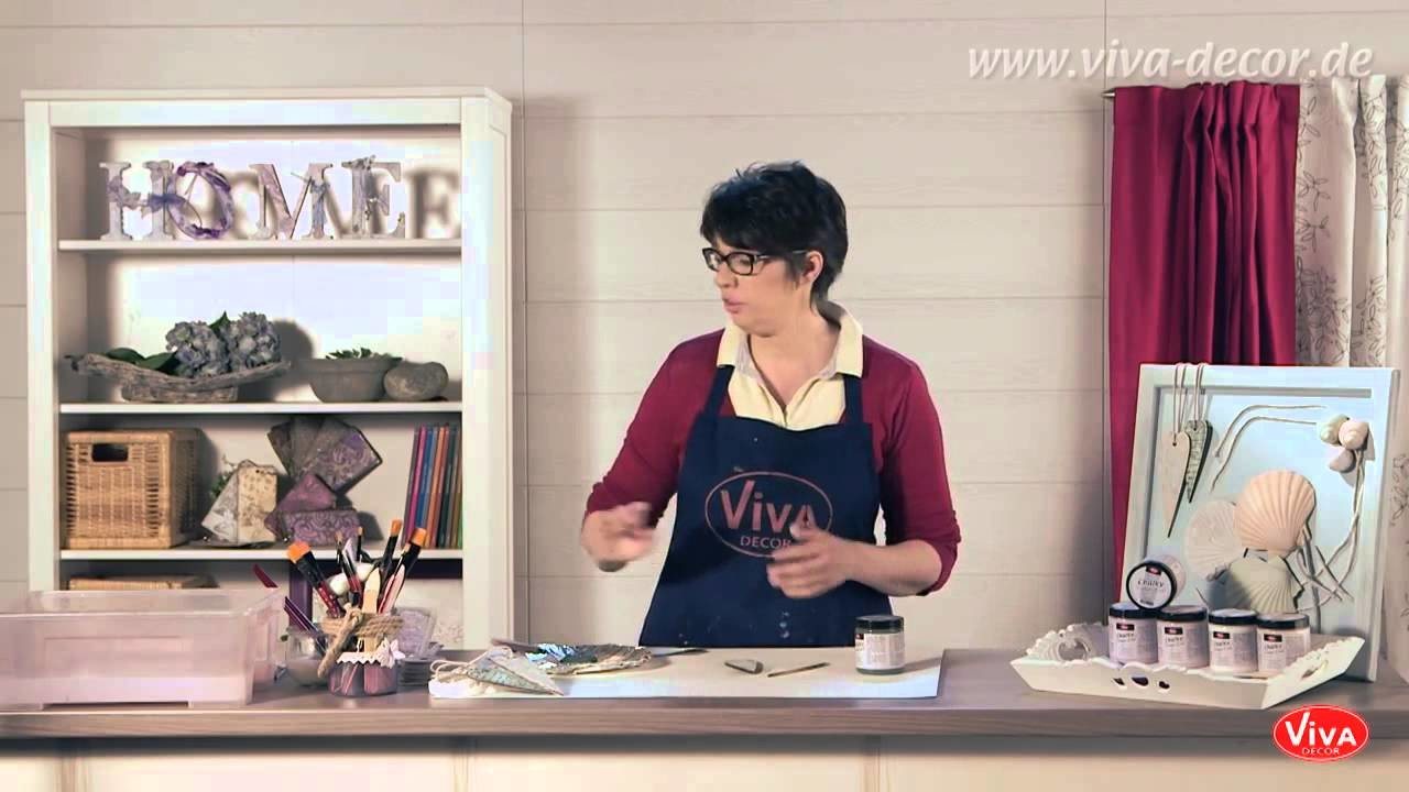 Tutorial  selfmade Shabby Chic mit Chalky Vintage Look   YouTube 720p