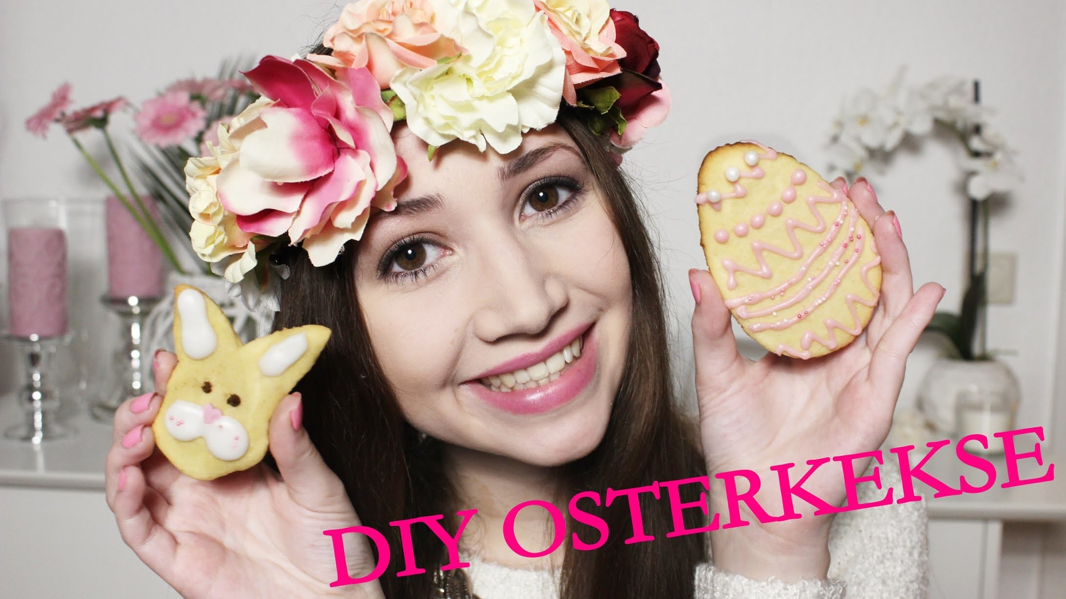 DIY OSTER KEKSE BACKEN || BAKING EASTER COOKIES || FROHE OSTERN