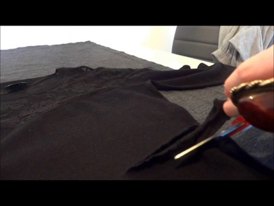 DRESSILE TV: DIY Cut Out Dress