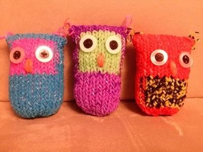 Große Eule,Owl,Crazy Loom,Rainbow Loom,Zauber Loom,Deutsch
