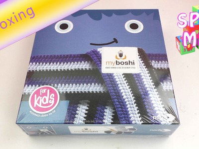 Myboshi häkeln für anfänger - Unboxing Myboshi Schal for Kids