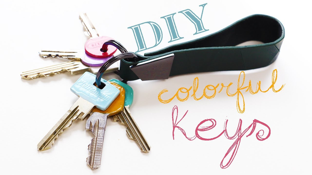 Quick DIY - Colorful Keys