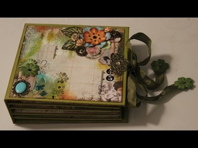 Scrapbook Nature Garden grün Mixed Media
