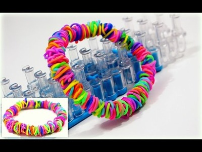 DIY Ideen Loom Bänder | Loom Armband selber machen mit Rainbow Loom | DIY deutsch