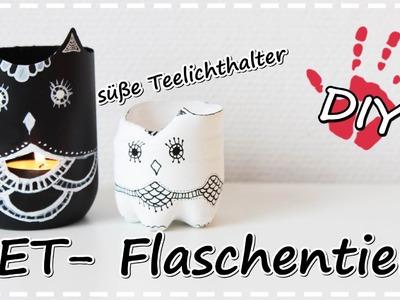 DIY Tiere aus PET-Flaschen|Teelichthalter,Vasen,Schmuckaufbewahrung |Plastic Bottle Vases