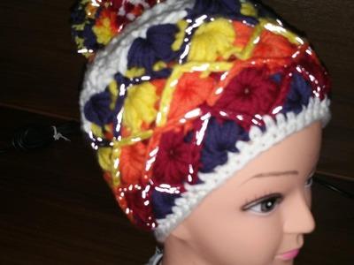 Mütze Regenbogen mit MYBOSHI no3# Häkeln mit Yve
