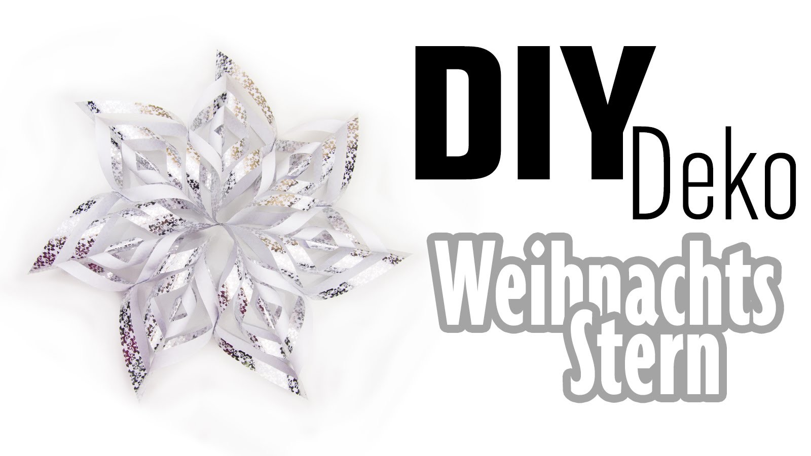 [DIY] Weihnachtsstern | Weihnachts-Deko