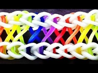 Loom Bandz Anleitung Deutsch Armband Infinity (Rainbow Loom Deutsch Loom Bands Armband