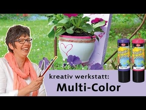 DIY - Mal deine Welt bunt mit Multi Color - Color up your life
