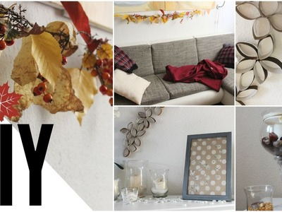 DIY Herbst Raumgestaltung DEKO I Autumn Room Decor 2015