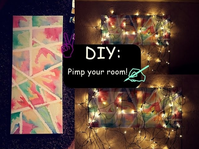DIY: Pimp your room!♥ #1
