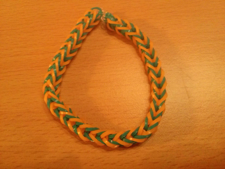 Einfaches Rainbow Loom Armband zum Selbermachen