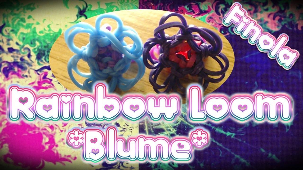 Rainbow Loom Blume Anleitung Deutsch. Loom Bands