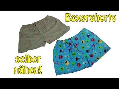 BOXERSHORTS NÄHEN | DIY | Nähen für Anfänger | Tutorial | *Reup