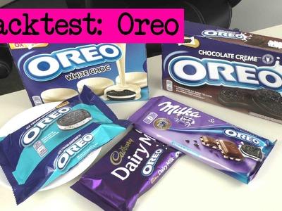 DIY Inspiration Snacktest: Oreo Eis, Schoko, Kekse werden probiert und für Euch getestet!