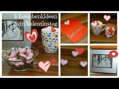 ♥ Valentinstag ♥  5 Geschenkideen. DIY