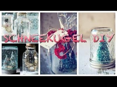 Lust auf ne neue Geschenkidee? - Schneekugel DIY #SquirrelsChristmas2014