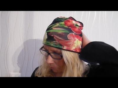 DIY Beanie Mütze nähen für Anfänger + Schnittmuster WENDEBEANIE von MsFunnyHome WeihnachtenIE