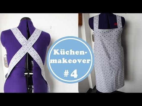 Schürze selber nähen - Küchenmakeover 4 | DIY | Anleitung | Küchenideen | Küchenplanung