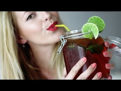 SOMMERDRINK - EISTEE DIY- FÜR´S FREIBAD, ARBEIT, SCHULE, UNI -Diana Delo