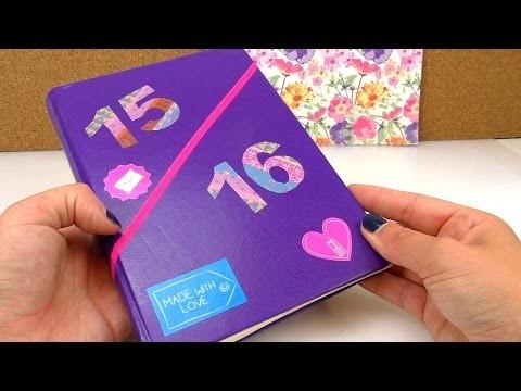 UPDATE - DIY Kalender | Schülerkalender selber machen | Back to School | Washitape
