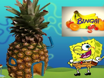 DIY Spongebob Ananas Haus! by BINGA! Lektion 18