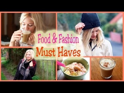 Food&Fashion Must Haves im Herbst I DIY Starbucks Drink, Trends.