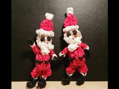 Loom Weihnachtsmann Anleitung || Loom Tutorial Deutsch
