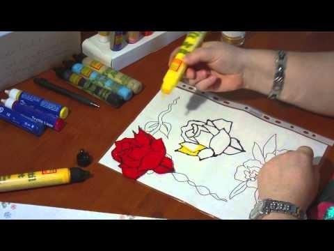 Textildesign - Textilfarbe wie Window Color zum Aufbügeln - DIY - Anleitung