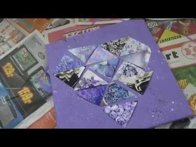 DIY Diamant Keilrahmen ♥   by xpressurselfx3
