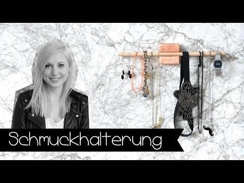 Der perfekte Schmuckhalter! | Aufhängung | Jewellery storage | DIY | KINNERTIED | #1