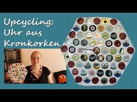 DIY Upcycling: Uhr aus Kronkorken - Aus Alt mach Neu: Ein Unikat im Vintage-Stil | kreativBUNT