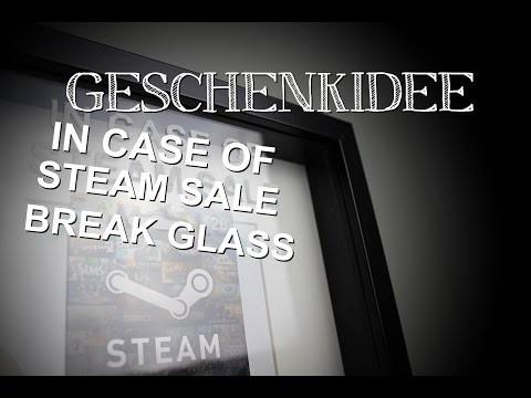 Geschenkidee für Gamer - Steam Sale | DIY