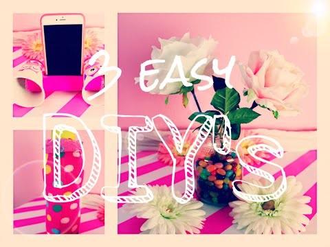 3 EASY DIY ♥️✂️♥️ | It's me Chrissi