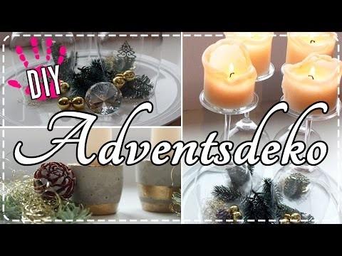 DIY- Last Minute Adventsdeko! | Moderne & edle Adventskränze!