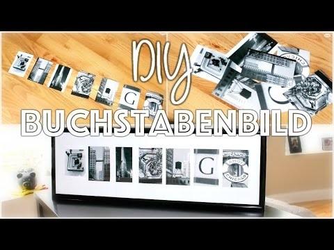 DIY Letter Art | Buchstabenbild