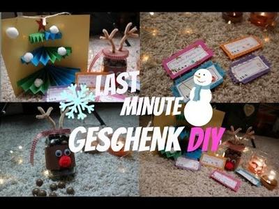 LAST MINUTE Weihnachts Geschenk DIY I #XMasWithAmelie