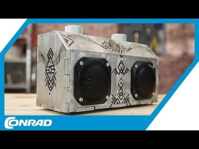 DIY Bluetooth Lautsprecher bauen - Tekkie Hacks | Conrad