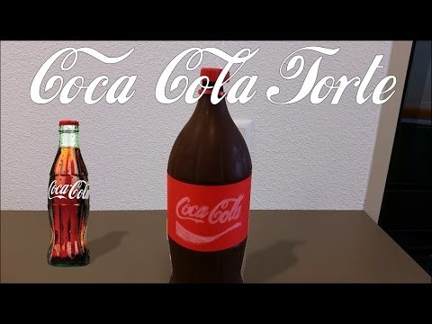 The DIY Maker - DIY Coca Cola Torte