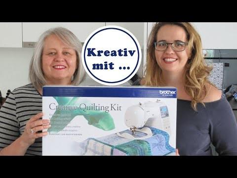Creative Quilting Kit | für kreatives arbeiten und Patchwork | DIY | Tool