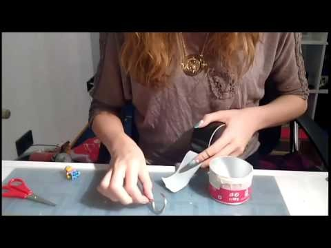DIY Trensen. Schmuckhalter