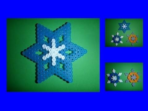 DIY Weihnachtsstern aus Bügelperlen ganz EINFACH, Geschenk zu Weihnachten, christmas gift ideas star