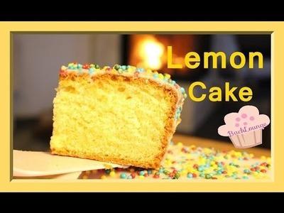 DIY. Zitronen Kuchen. Lemon Cake. schnell. einfach. selber machen. BackLounge 2016