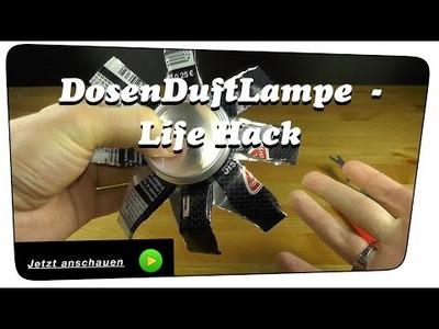 Duftlampe aus einer Dose selber machen - Life Hack | DIY