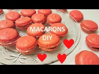 MACARONS Rezept ♥ einfach ♥ französische Süßigkeiten ♥ DIY♥