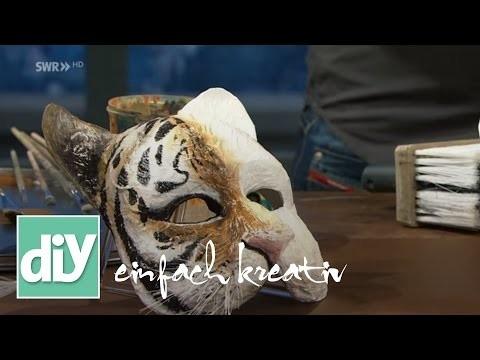 Tigermaske | DIY einfach kreativ